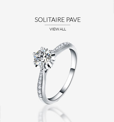 paved engagement rings